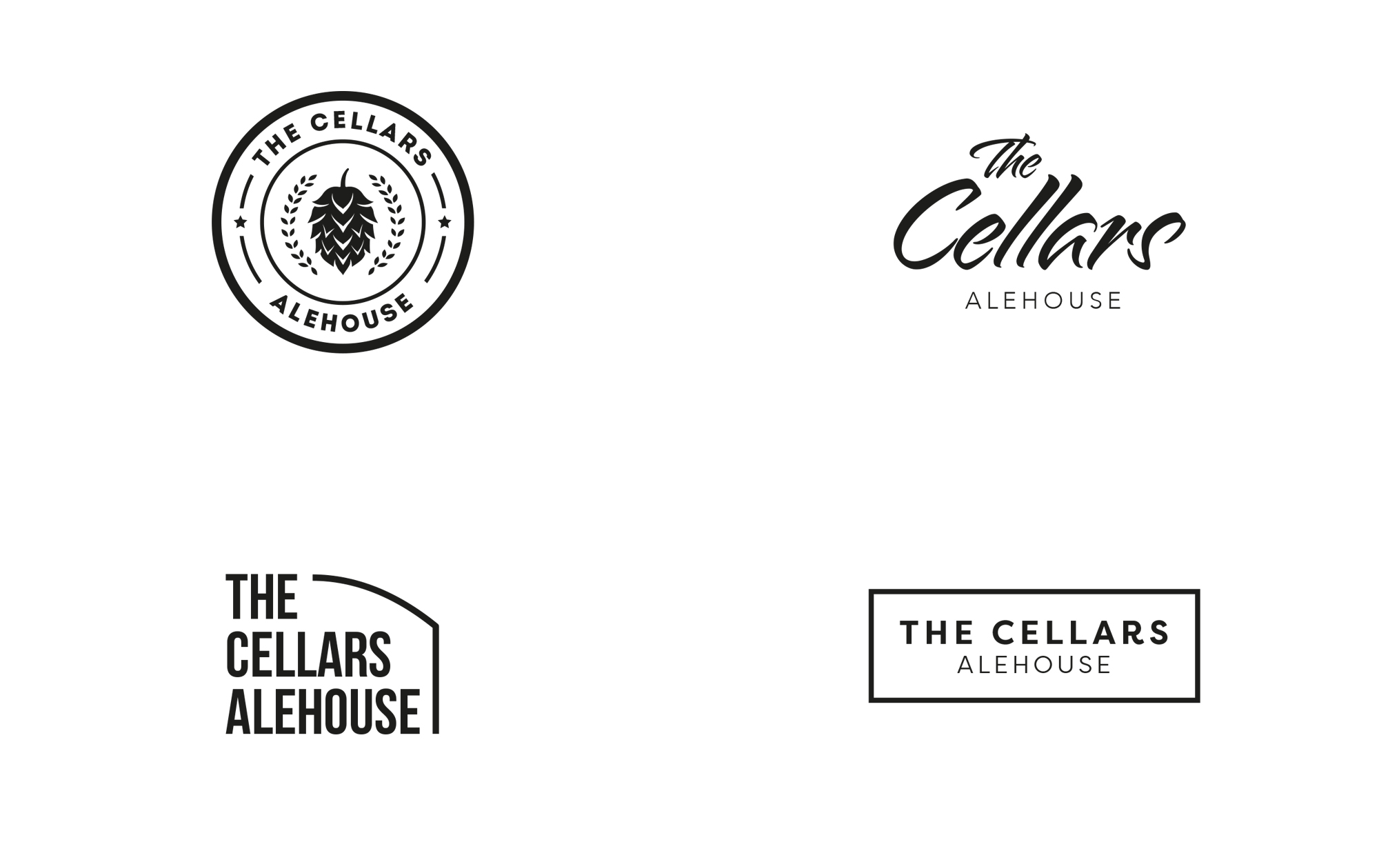 the_cellars_alehouse_branding_identity_logo_design_matthew_pomorski_graphic_designer_maidstone_kent